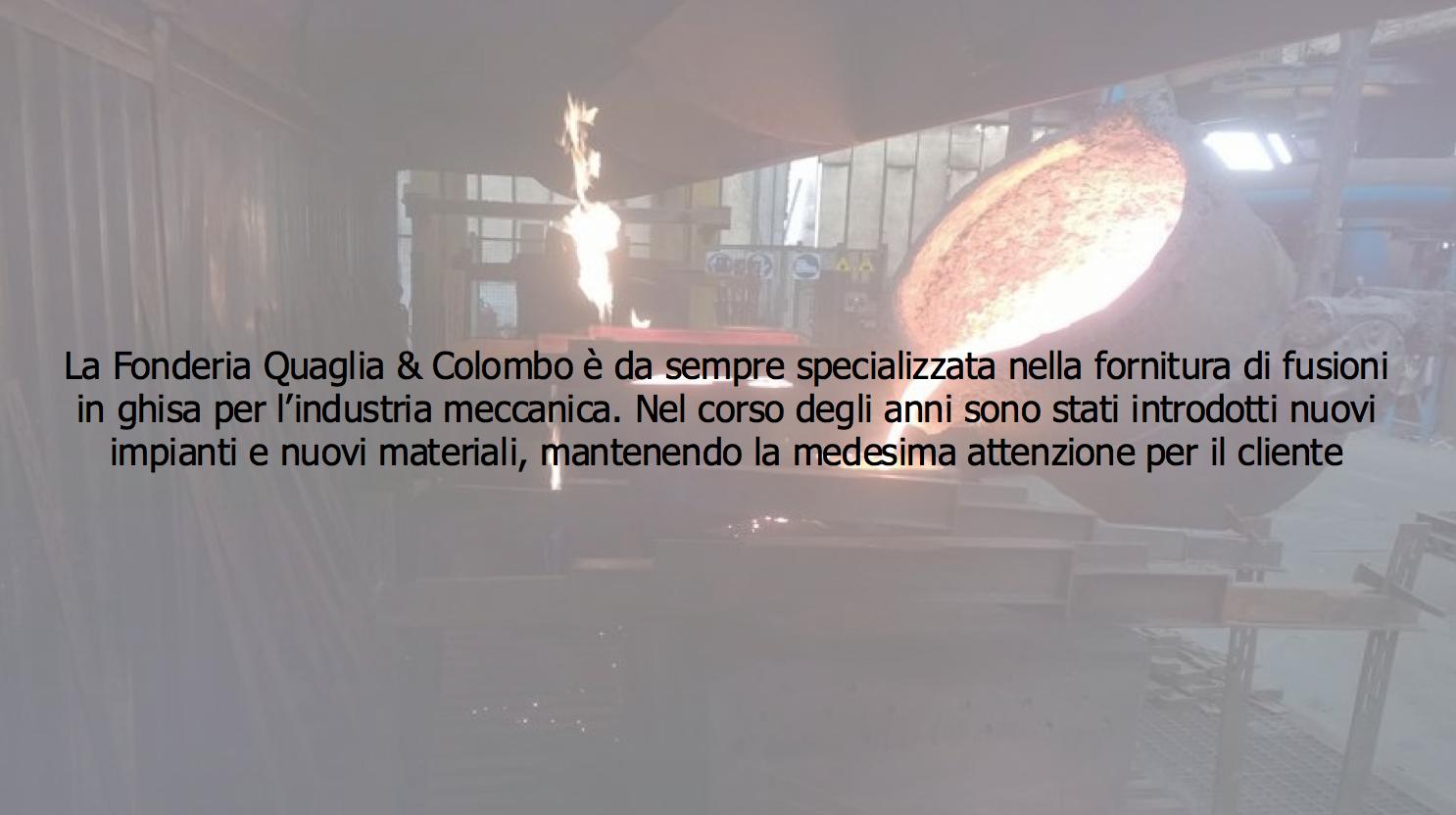 FONDERIA QUAGLIA & COLOMBO SRL